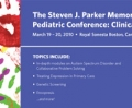 Steven J. Parker Memorial Developmental-Behavioral Pediatrics conference postcard