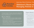 Alzheimers Disease and Other Dementias: Managing Patients in Primary Care (Dementia Practice Circles) self-mailer