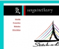 Sanguine Theory website portfolio detail
